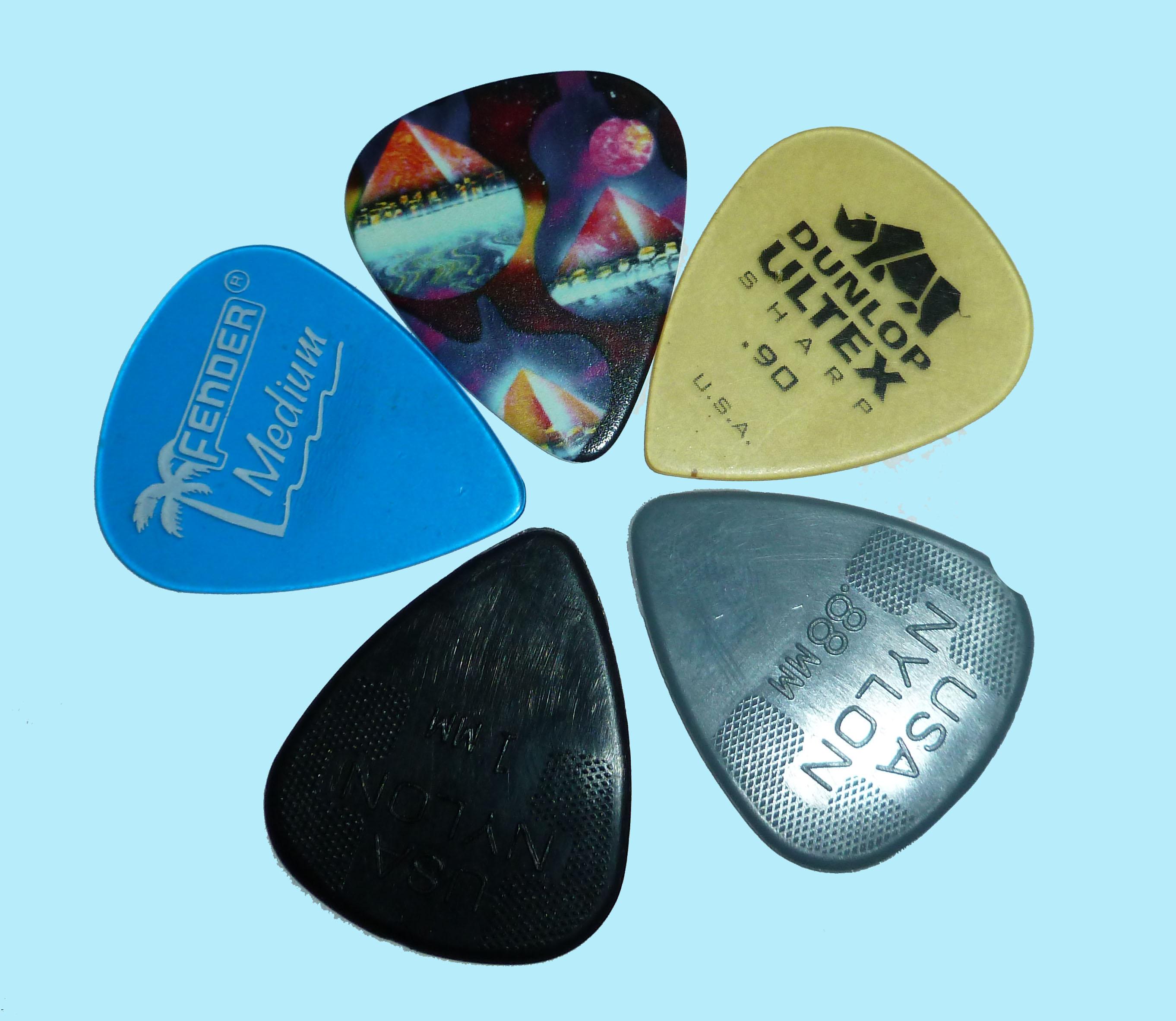 guitar pick sample by Susan L. amrsh