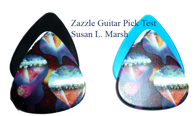 customized guitar picks by susan l marsh